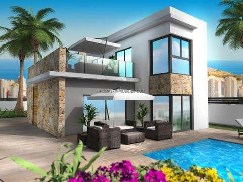 Luxus schlafzimmer mit pool  Luxus-Villa mit 4 Schlafzimmer, 4 Bäder, mit Pool und Garten, 167 m² ...