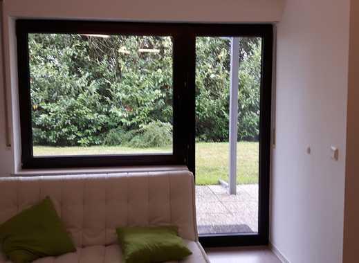 ruhige Terrassenwohnung in Südlage mit Blick ins Grüne