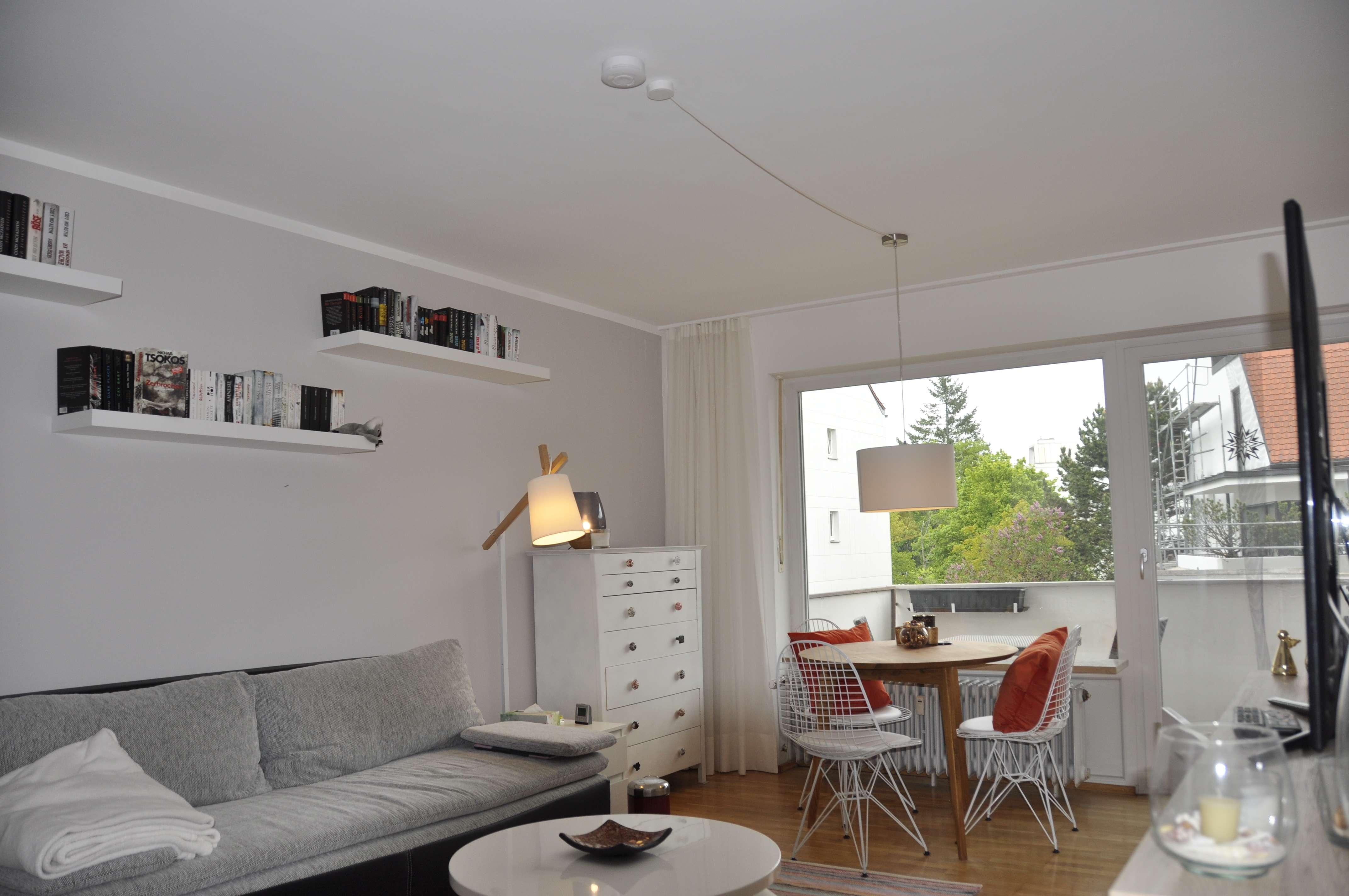 Modernisierte 1-Zimmer-Wohnung mit Balkon und EBK in Laim, München
