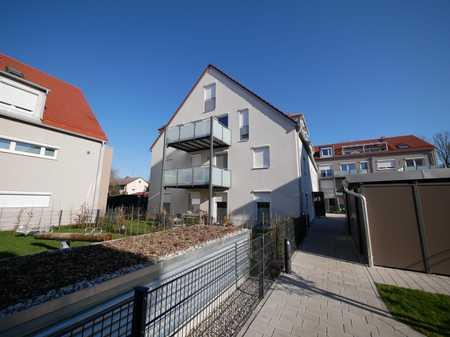 Helle Obergeschosswohnung mit tollem Westbalkon - Neubau mit Tiefgarage - Moderne Ausstattung in Dachau
