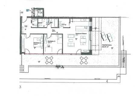Hochwertige 3-Zimmer-Wohnung mit Dachterrasse ca. 1,5 km östlich von Memmingen in Memmingen-Innenstadt