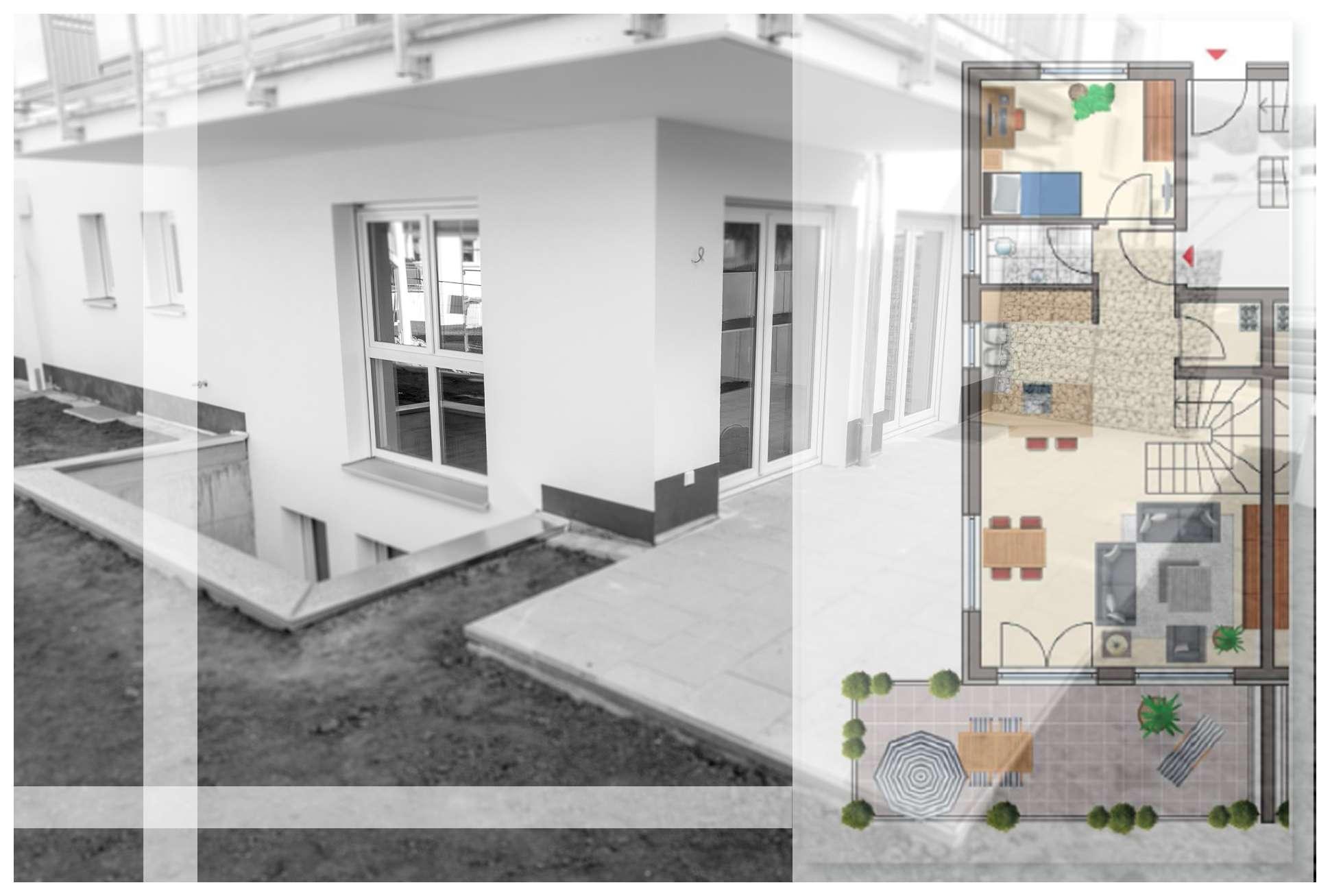 Neuwertige 3-Zimmer-Maisonette-Wohnung mit großzügiger Terrasse in Diepersdorf in Leinburg