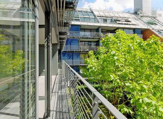 #Lichtverwöhnte Avantgardewohnung direkt am Potsdamer Platz - mit Balkon + Wintergarten!