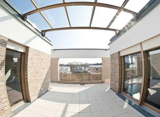 LU: Luxuriöse Penthouse-Wohnung mit großer Dachterrasse und Wasserblick, Erstbezug