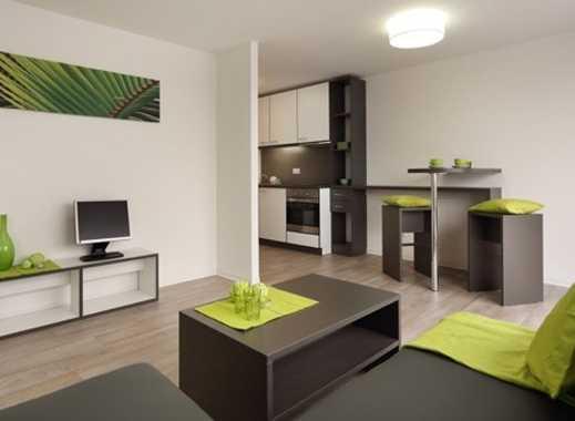 470 €, 36 m², 1,5 Zimmer