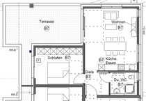 Modernes Penthouse mit 2 5-Zimmer