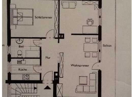 Wunderschöne 3-Zimmer-Penthouse-Wohnung naturnah in Hamburg/Rahlstedt