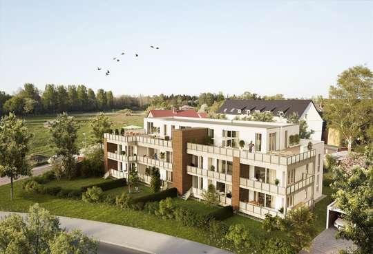 Perfekte Wohnung mit großzügigem Süd-West-Balkon.