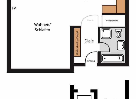 Komfortables Appartement fußläufig zur Ruhr-Uni
