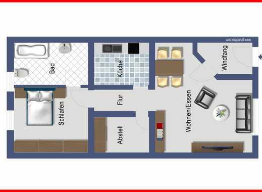***Vermietete 2-Zimmer-Wohnung - ideal als Kapitalanlage...***