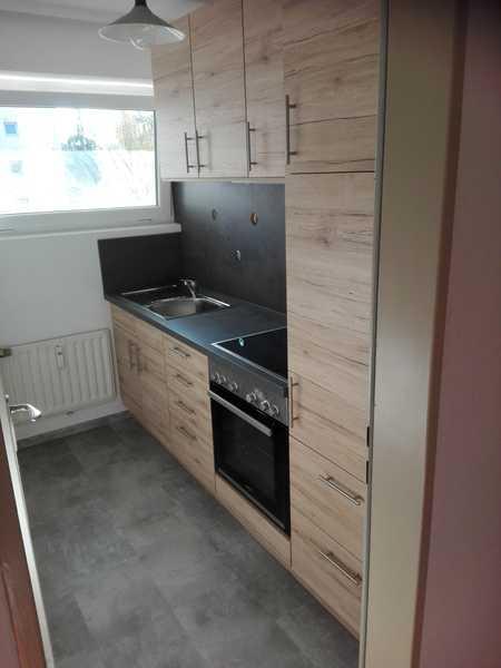 Helle, modernisierte 1-Zimmer-Wohnung mit Balkon und Einbauküche in Regensburg in Westenviertel (Regensburg)