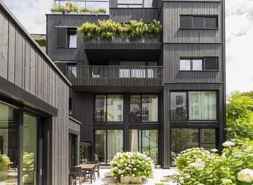 großartige Wohnung in Berlin Mitte mit Blick ins Grüne