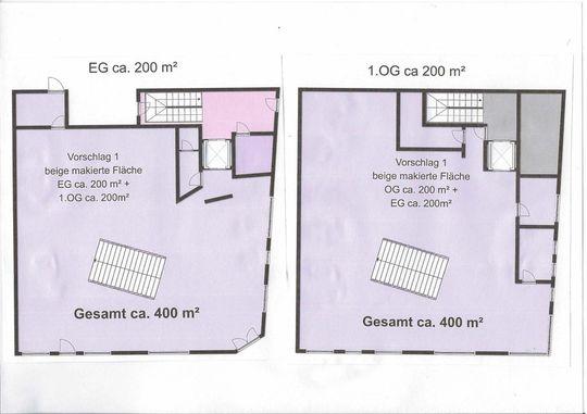 Grundriss 400 m2
