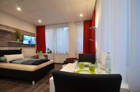 Direkt in der Innenstadt, 5 Min zum Bahnhof, vollausgestattete möblierte Apartments kurzfristig frei in Stadtmitte (Aschaffenburg)