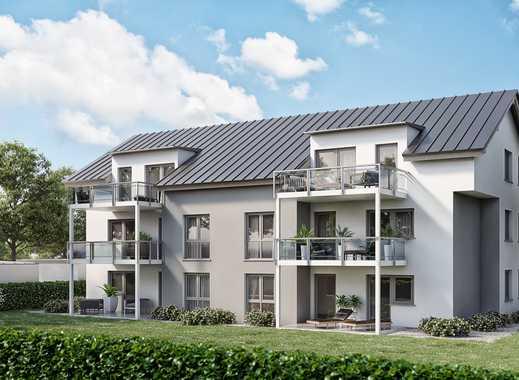Erstbezug mit Balkon: exklusive 3-Zimmer-Wohnungen in Appenweier mit Tageslichtbad