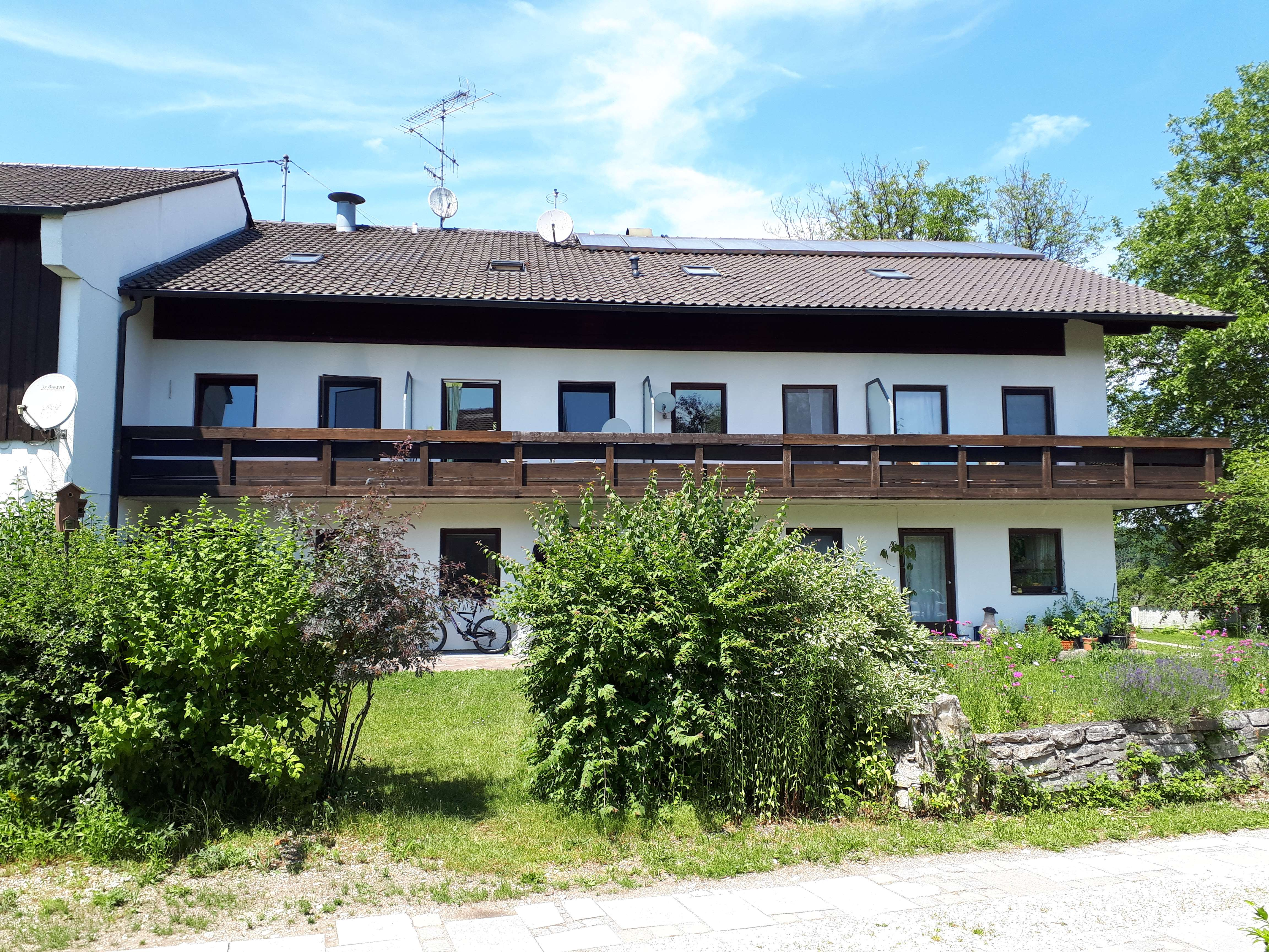 1-Zimmerwohnung Südseite mit Balkon bei Wasserburg in