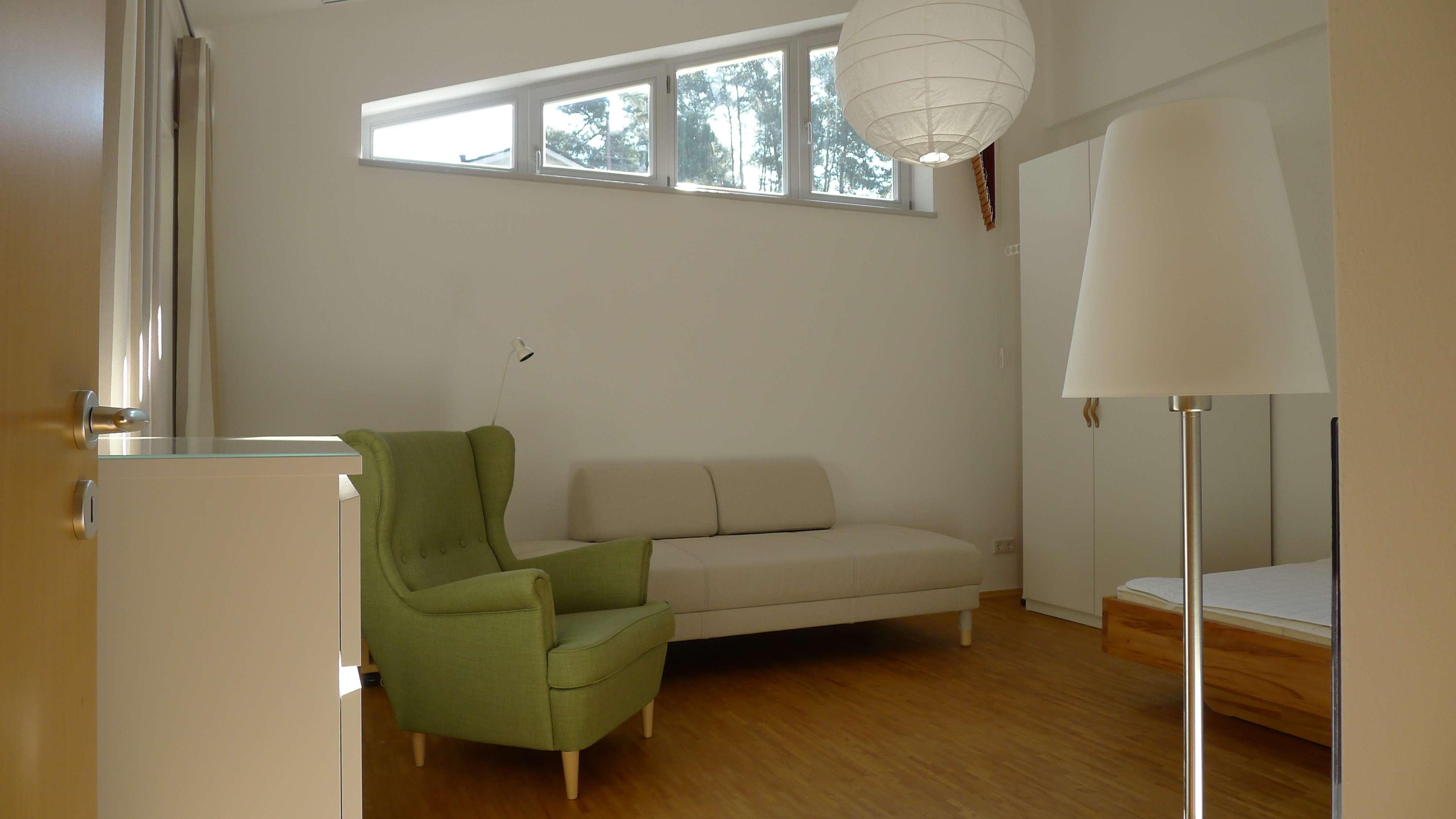 Hochwertige, möblierte 1-Zimmerwohnung am Waldrand in Erlangen