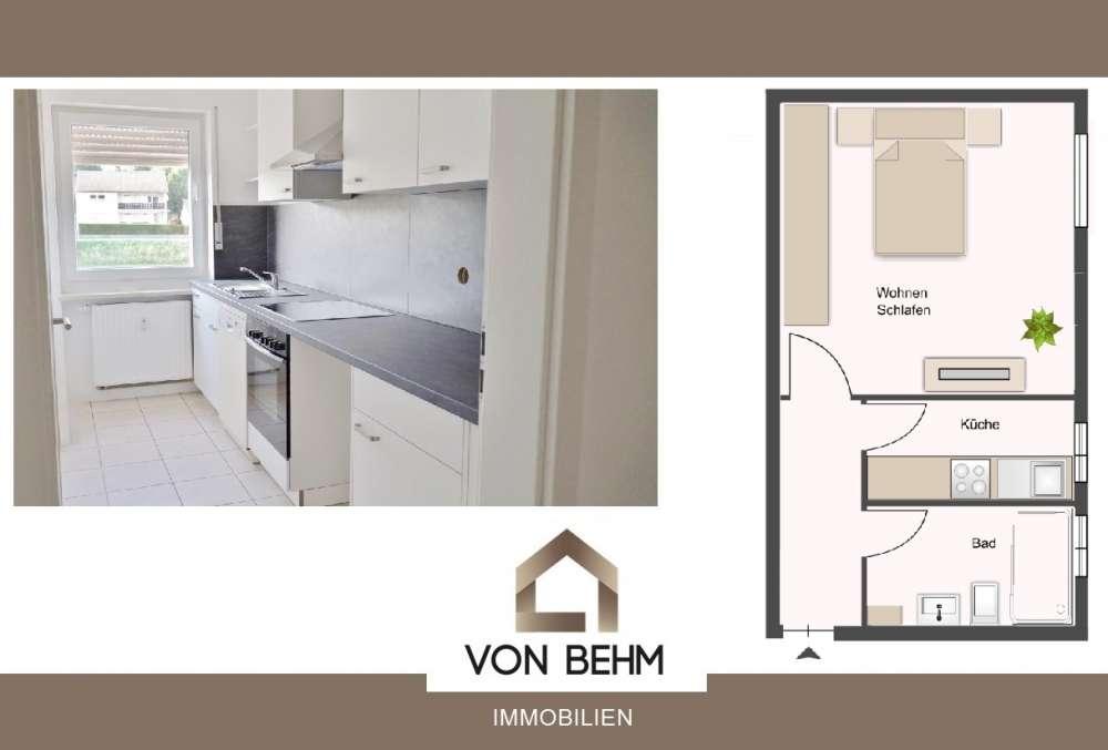 von Behm Immobilien - 1ZKB Wohnung in ruhige Lage in
