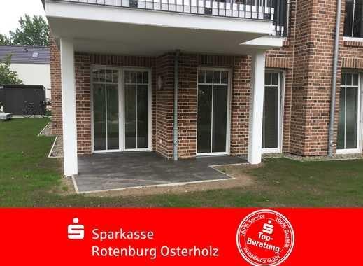 Rotenburg: Seien Sie der erste Mieter! Exklusive Erdgeschosswohnung im Zentrum der Stadt