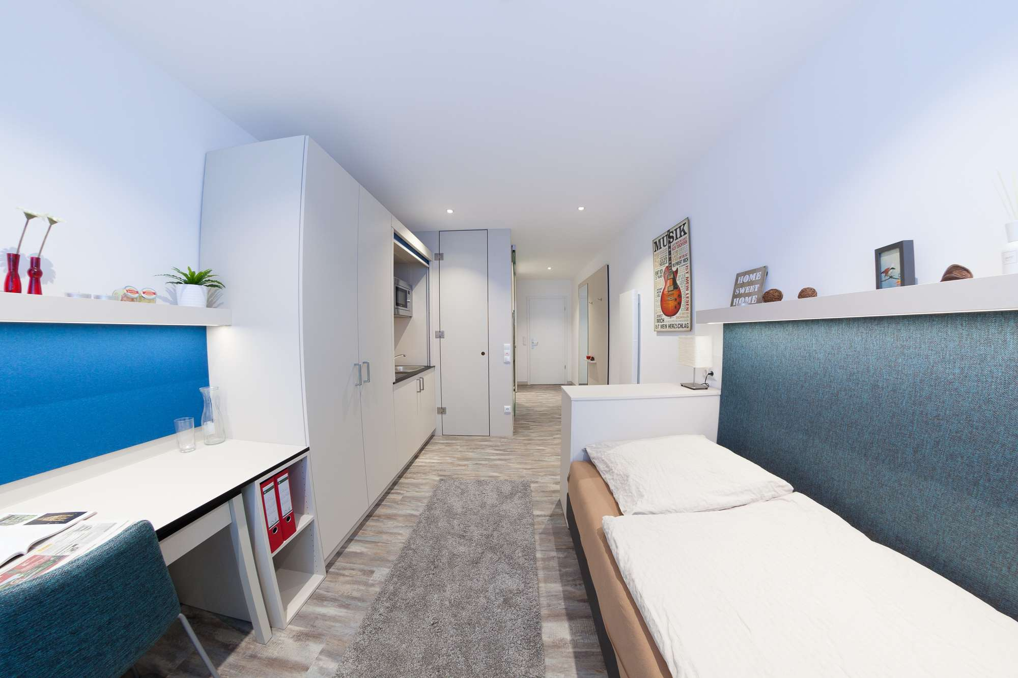 Azubis, Schüler, Doktoranten aufgepasst! Moderne möblierte (Studenten) Appartements zu vermieten in Erlangen - Zentrum (Erlangen)
