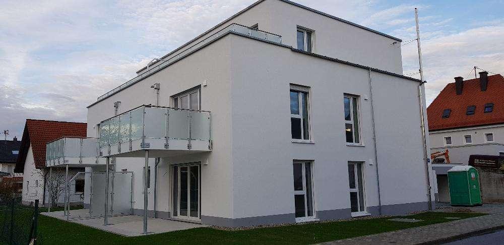 Erstbezug Ingolstadt, Hauffstraße, schöne 3 Zimmerwohnung im 1. Obergeschoss in Nordost (Ingolstadt)