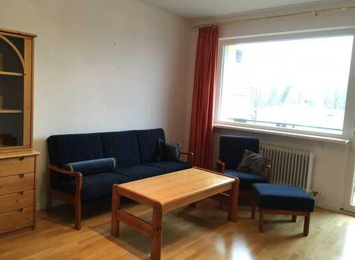 Möblierte 1,5-Zimmer-Wohnung mit Balkon und Einbauküche in Steglitz, Berlin