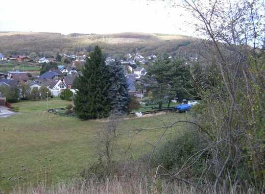 Baugrundstück in Waldrandnähe mit Fernblick in Heimbach-Hasenfeld