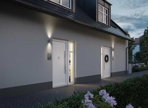 Willkommen! Doppelhaushälfte mit zeitgemäßem Wohnkomfort in grüner Umgebung im Stadtgebiet München
