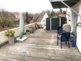 50 qm Dach-Terrasse