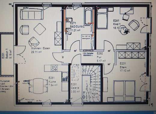 Erstbezug: ansprechende 3-Zimmer-Wohnung mit Balkon in Wesseling