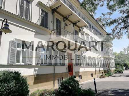 Exklusive, luxuriöse Wohnung am Kurpark, Terrasse, Einbauküche, Tiefgarage in Bad Kissingen