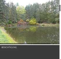 Alleinlage Teichanlage mit Fischerhütte mit