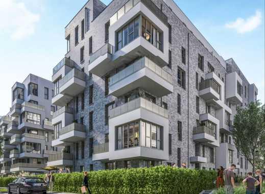 Zeitgemäße 4-Zimmer-Wohnung mit 2 Bädern und 2 Balkonen in familienfreundlicher Lage