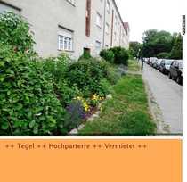 Bild **Hochparterre Tegel - Vermietet**