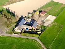Bauernhaus in Xanten mit Reitplatz