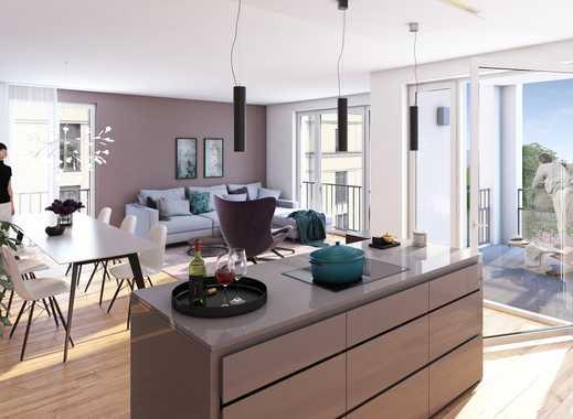 Mitten in Freiburg: schöne 4-Zimmer-Wohnung - in moderner Wohnanlage