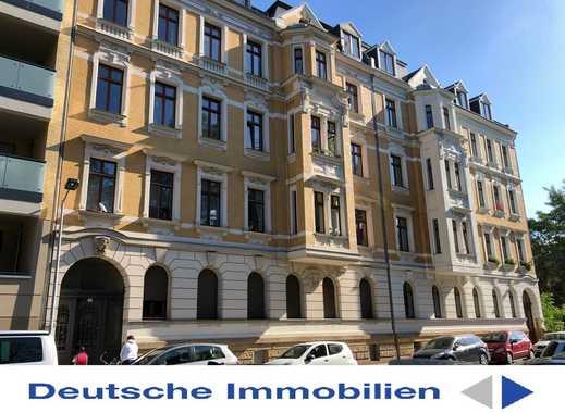 Repräsentative Dachgeschosswohnung im Bachviertel - luxuriösem Bad, großem Balkon und Lift!