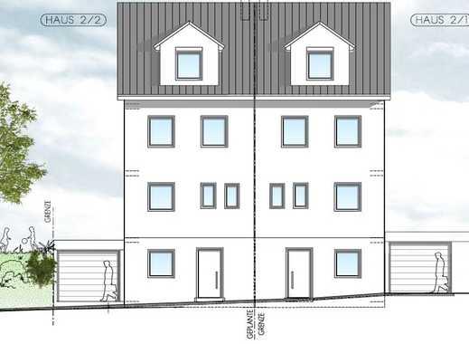 Neubauprojekt! Großzügige Doppelhaushälfte (Haus Nr. 2-1) in Aalen-Unterkochen - provisionsfrei