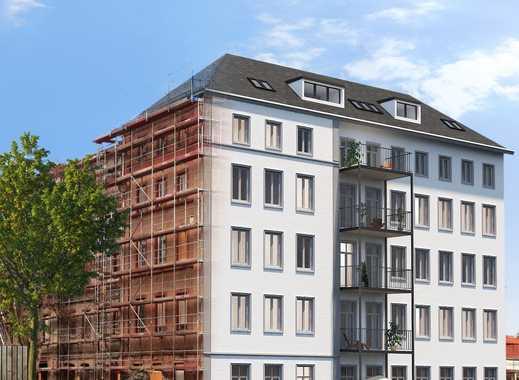 Herrschaftliche 3-Zimmer-Altbauwohnung mit riesen Süd-Balkon in Offenbachs bester Lage
