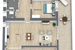 5 Zimmer Wohnung in Neunkirchen (Kreis)