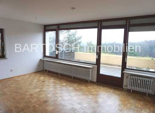 Schicke 2-Zimmer-Wohnung mit grandioser Dachterrasse und Ruhe