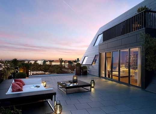 Mehr geht nicht! Traumhafte 4-Zimmer-Penthousewohnung mit zwei Terrassen