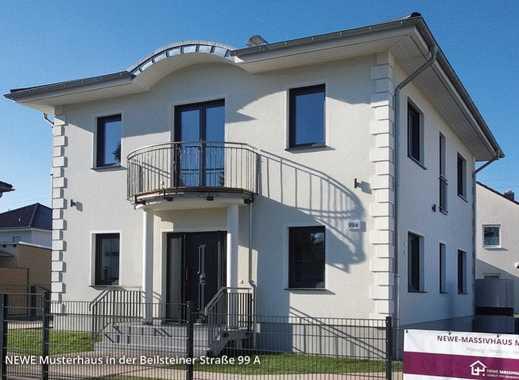 Neubau Doppelhaushälfte in Mahlsdorf mit Ausbaureserve im DG, 153 qm Wohn/Nutzfläche.