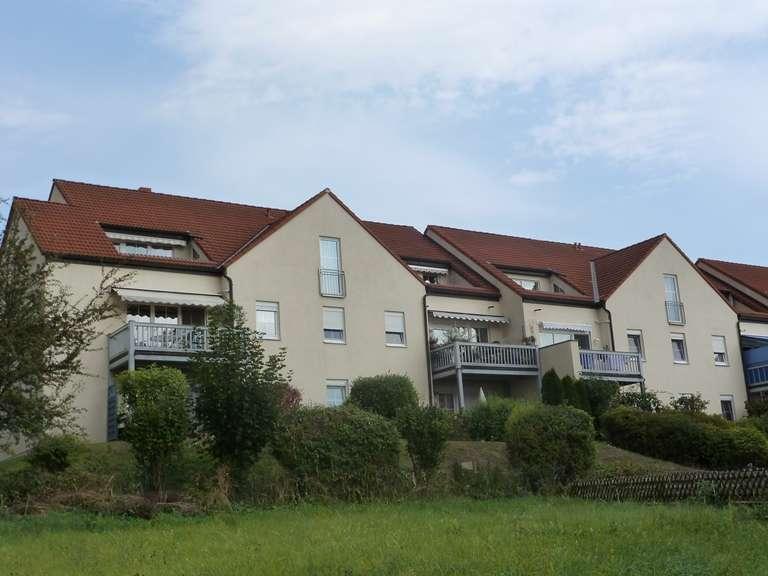 Ruhige 3-Zimmer-Wohnung mit Aussicht über Pegnitz in Pegnitz (Bayreuth)