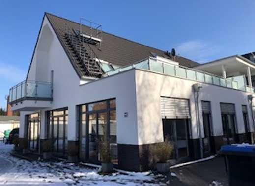 Luxuriöse, sehr ruhige 3-Zimmer-Terrassenwohnung mit Garten und Einbauküche in Bonn-Beuel