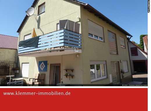 Im Ortskern von Steinfeld - Mehrfamilienhaus mit Scheune