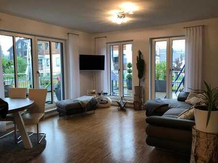 Exklusive 3-Zimmer Dachterrassenwohnung im Herzen Deisenhofens in Oberhaching