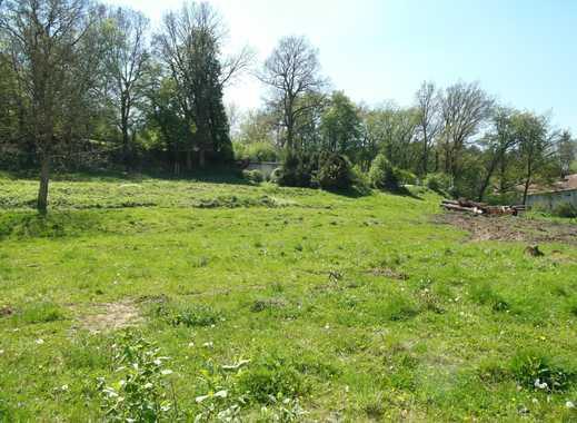 Sofort bebaubares Grundstück mit Planung und Baugenehmigung - ruhige Wohnlage am Rande der Kernstadt