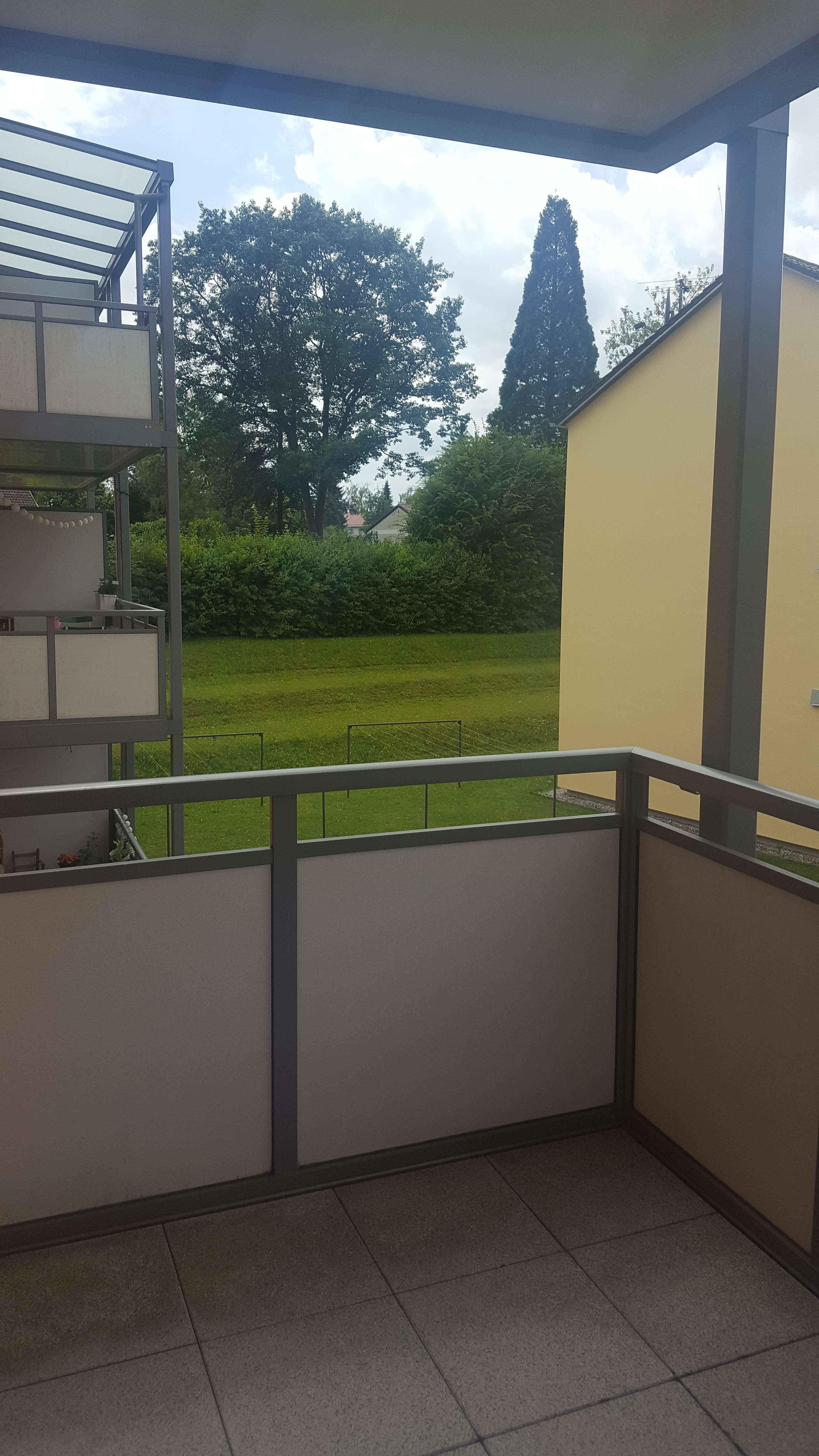 Schöne 3 Zimmerwohnung in ruhiger und gepflegter Wohnanlage in Göggingen H2F in