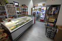 Internet Cafe Supermarkt Ladenfläche